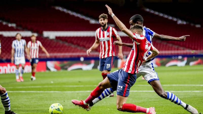 Atlético de Madrid vs Real Sociedad, jornada 36, LaLiga