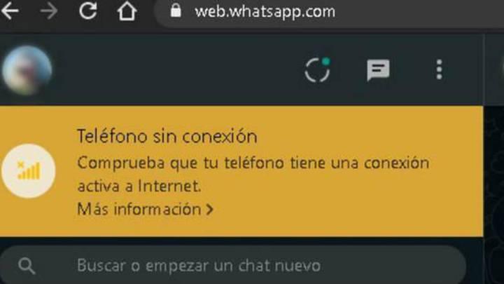Sin conexión