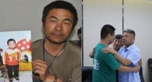 Después de 24 años, un hombre encuentra a su hijo que había sido secuestrado en China