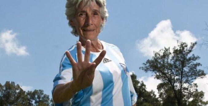 La historia de Elba Selva, la mujer por la que hoy se festeja el Día de la Futbolista Argentina