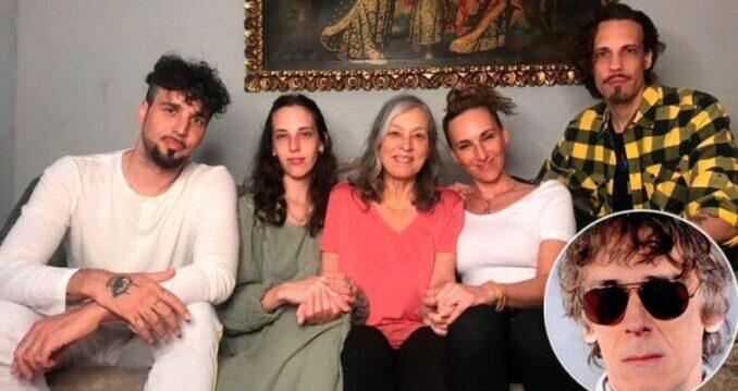 Falleció Patricia Salazar, exesposa de Spinetta y madre de sus cuatro hijos