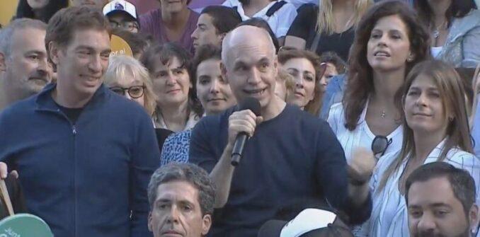 """Cierre de campaña: Rodríguez Larreta advirtió que """"la gente está harta del kirchnerismo"""" y pidió cuidar los votos"""