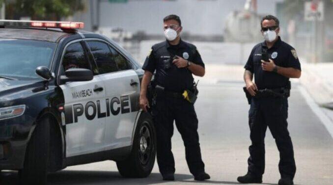 Miami : El COVID se convirtió en el asesino número uno de los policías en actividad