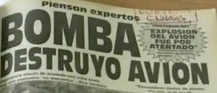 Información sobre lo ocurrido, en la prensa panameña