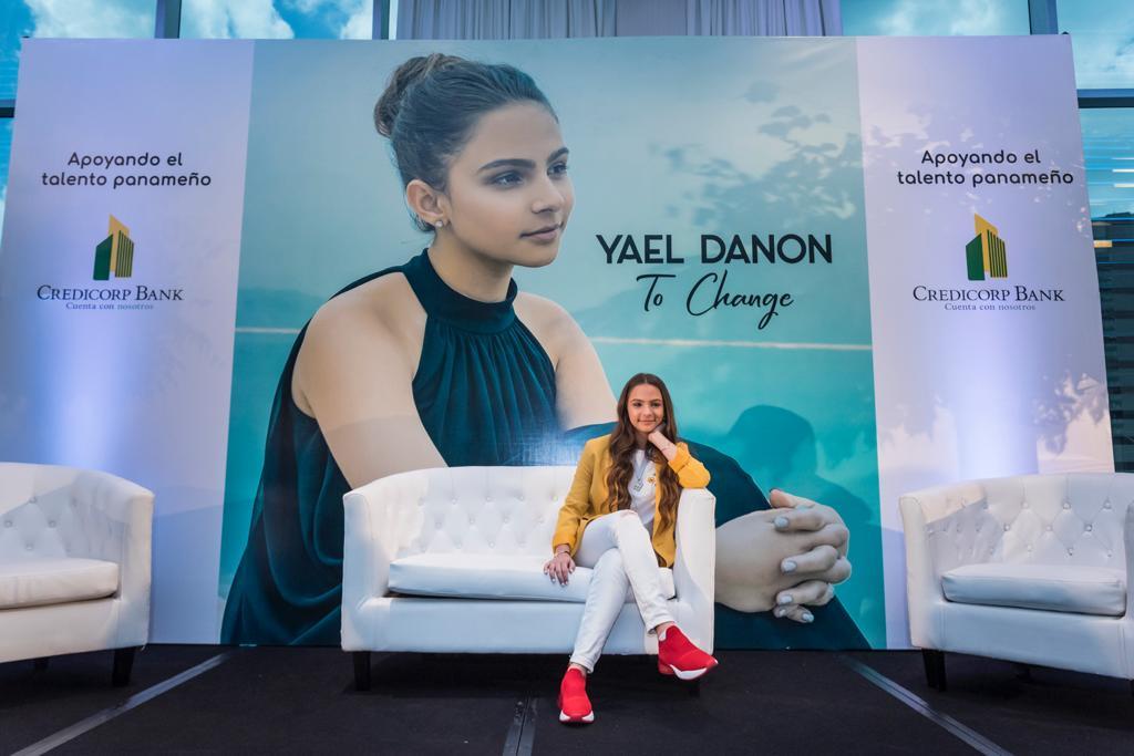 Yael Danon, en el lanzamiento de su primer sencillo