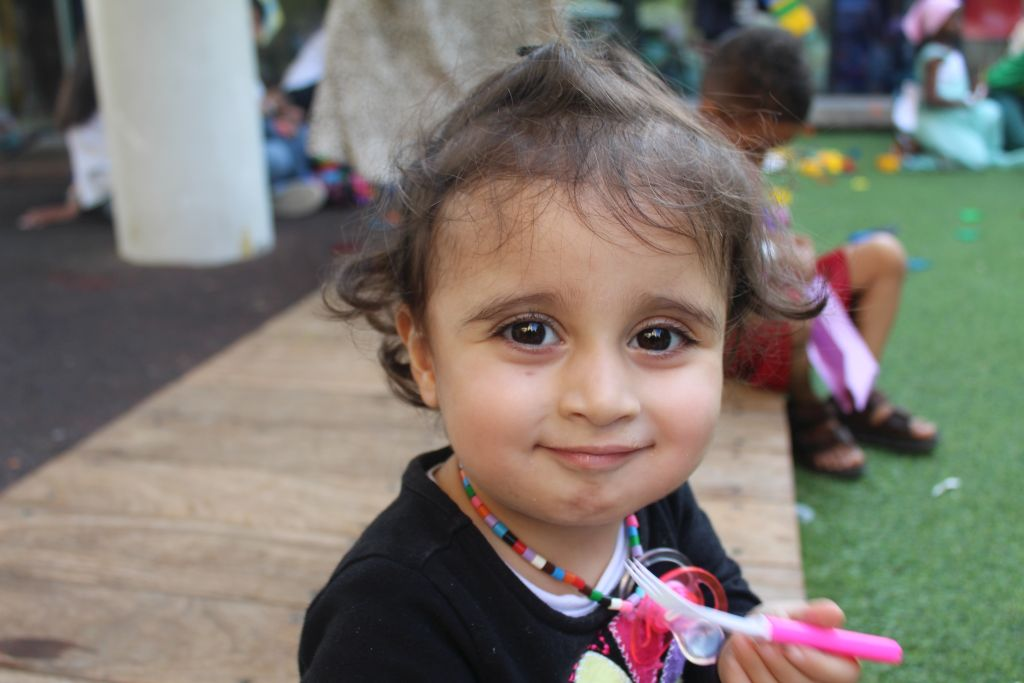 Marya Ahmed, otra de las niñas irakíes operadas