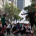 Se prevé que unas 500 mil personas se movilicen en la Marcha por la Paz