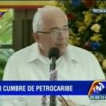 Rafael Ramírez: Petrocaribe permite a la región resistir la crisis del capitalismo a nivel mundial