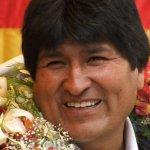 Desagravio a Evo Morales