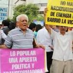A las calles la protesta en Cartagena por mal servicio de Electricaribe