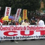 Vigente el plan de exterminio contra el movimiento sindical