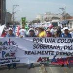 ¡Cipote marcha en Barranquilla!