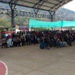 Movilización por la zona de reserva campesina de Cabrera