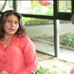 Camila Cienfuegos y Paola Franco, delegadas de Paz de las FARC