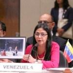 Venezuela: Canciller Rodríguez acusa a Macri de injerencismo