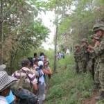 Desplazados de El Bagre (Antioquia) exigen garantías para retornar