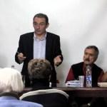 Enrique Santiago en el Pleno Nacional del PCC