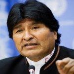 Evo Morales pide disolver la DEA y cerrar bases militares EE.UU.