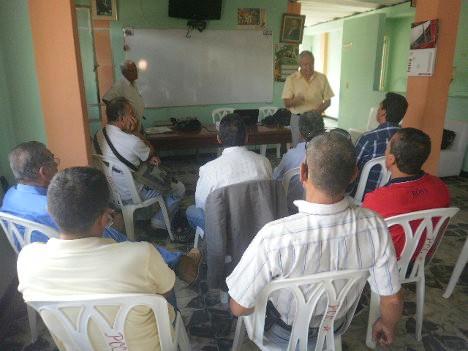 Vista parcial taller periodismo realizado por Asoprensa en Ibagué, Tolima. Foto Nelosi.
