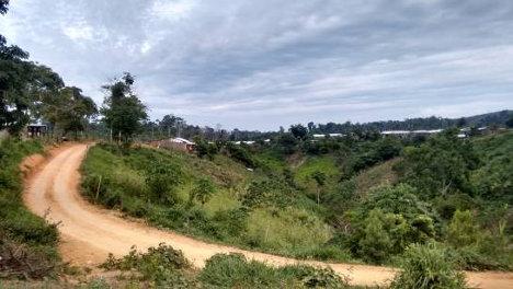 Camino a Carrizal, en Remedios (Antioquia).