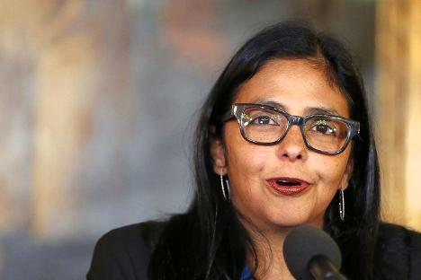 La canciller venezolana, Delcy Rodríguez, ha defendido el derecho de su país a ocupar la presidencia pro tempore de Mercosur.
