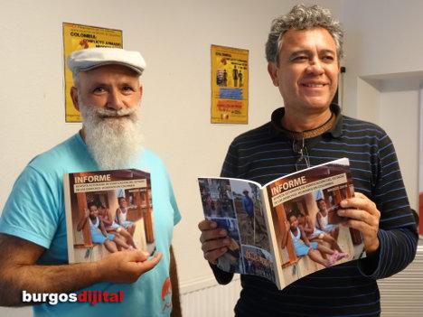 Javier Arjona y Javier Orozco en la presentación del Informe