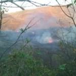 Militares provocan incendios durante erradicación en Bolívar (Cauca)