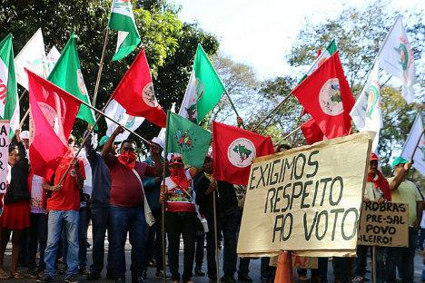 Movimientos luchan contra los retrocesos de las políticas destinadas a las reforma agraria y a la agricultura familiar / Bruno Pilon/MPA