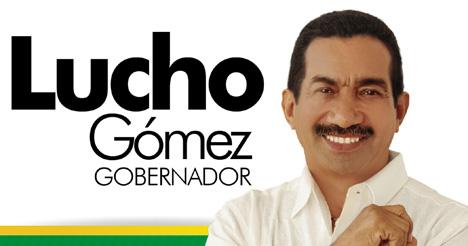 Lucho Gómez, candidato de la UP a la Gobernación.