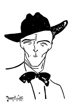 Ricardo Rendón, autorretrato.