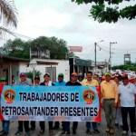 Petrosantander  persigue a sindicalizados