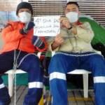 """Huelga de hambre en Tigo UNE: """"Nos pasaron a una empresa de papel"""""""