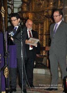 Premio Cruz de Guía 2012 Cofradía del Coronado de Espinas