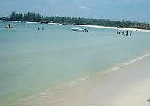 wisata air jepara Pantai Bandengan