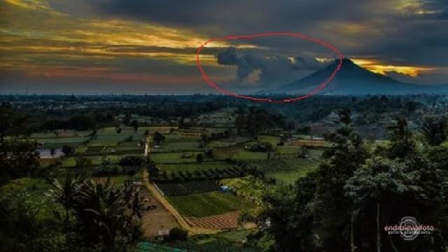 Gunung Sinabung Dengan Erupsi Paling Terlama di Indonesia