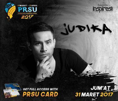 Judika Bakal Guncang PRSU Medan 2017