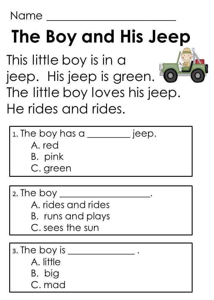1st Grade Reading Worksheets Pdf or 2nd Grade Reading Prehension Worksheets Multiple Choice