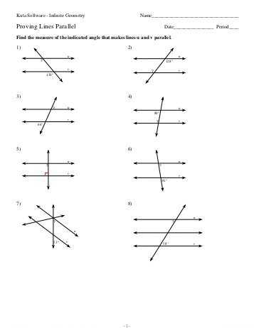 3.3 Proving Lines Parallel Worksheet Answers as Well as More About Parallel Lines Notes Proving Lines are Parallel Dual