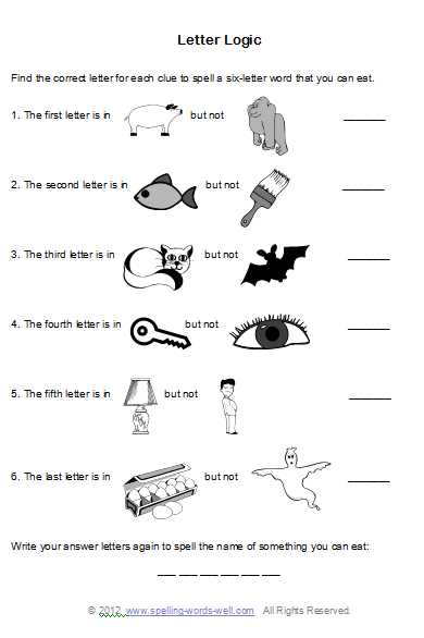 6th Grade Brain Teasers Worksheets Also Brain Teaser Worksheets for Spelling Fun