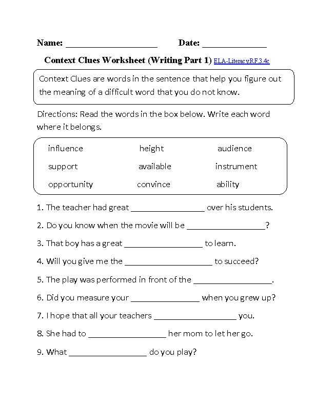 8th Grade Common Core Math Worksheets or 31 Best Ela Core Worksheets Images On Pinterest