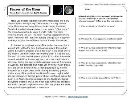 8th Grade Reading Comprehension Worksheets with 1662 Best Science Images On Pinterest