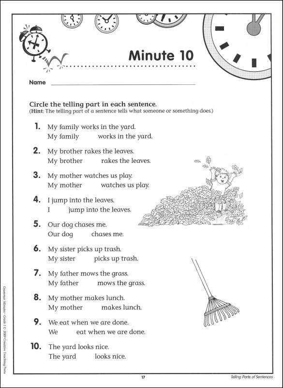 9th Grade English Worksheets together with Free Printable Worksheets Grammar Grade 1