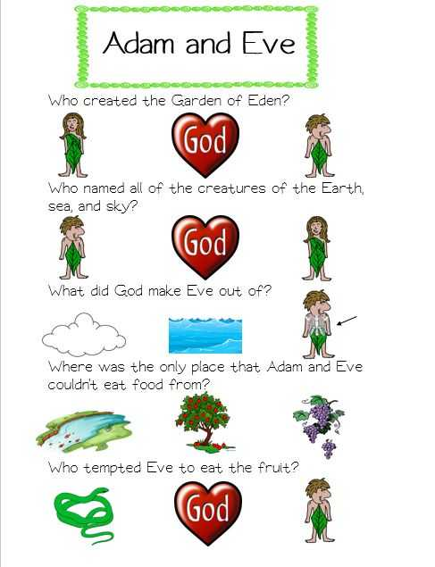 Adam and Eve Worksheets Along with 197 Best Adam & Eve Eden Lessons Images On Pinterest