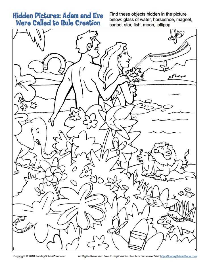 Adam and Eve Worksheets or 9 Best Adam and Eve Were Called to Rule Creation Bible Activities