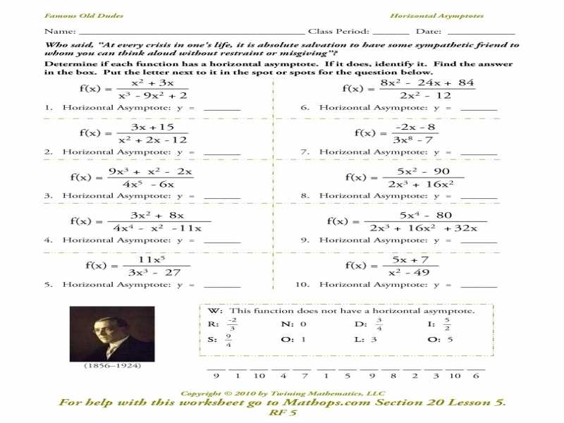 Algebra 3 Rational Functions Worksheet 1 Answer Key with Best Graphing Rational Functions Worksheet Unique Pythagorean