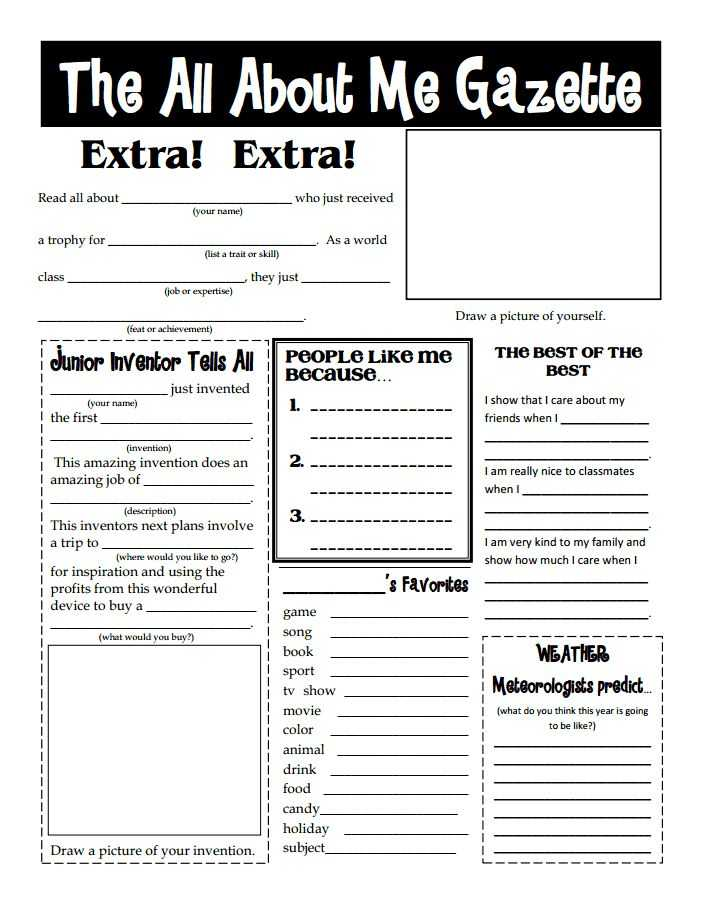 All About Me Worksheet Middle School Pdf Along with 46 Best Back to School Ideas for Parents and Teachers Images On