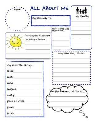 All About Me Worksheet Middle School Pdf as Well as 35 Best Educattional Things Images On Pinterest