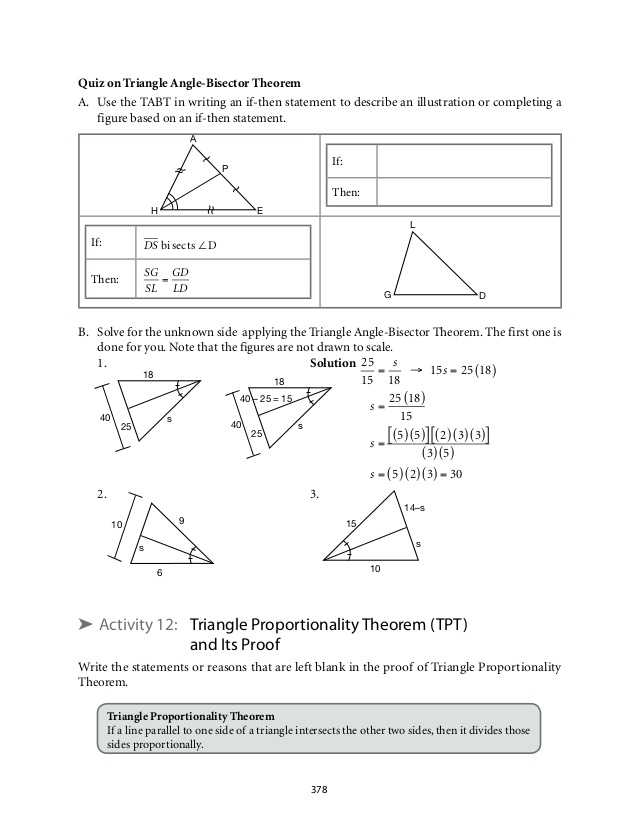 Angle Bisector Worksheet Answer Key together with Grade 9 Mathematics Module 6 Similarity