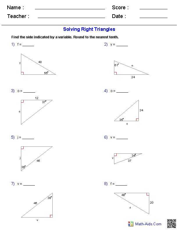 Angle Of Elevation and Depression Trig Worksheet Answers with 82 Best Trigonometry Images On Pinterest