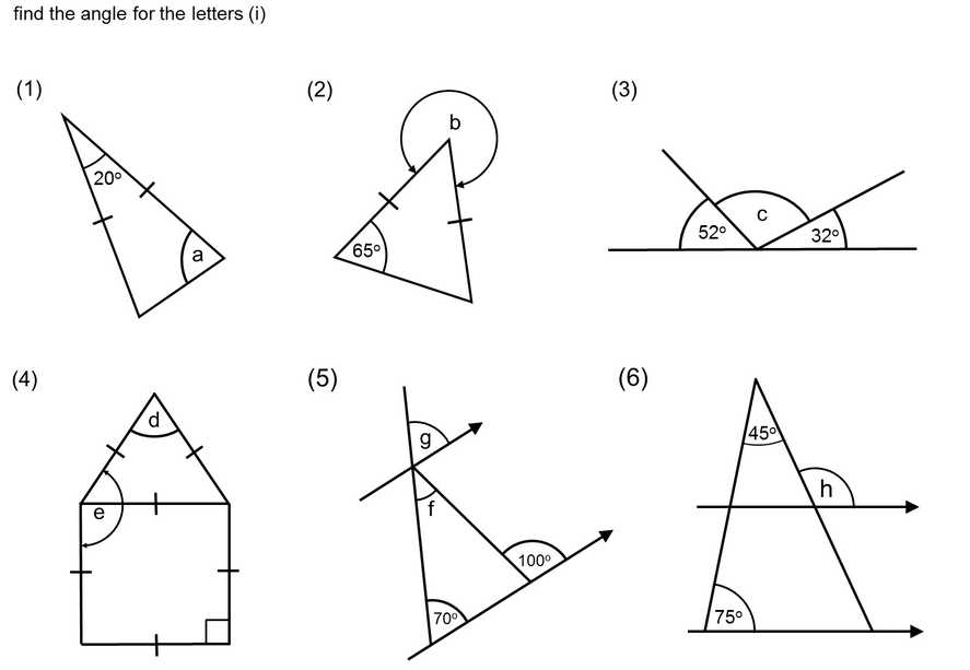 Angles On A Straight Line Worksheet with Special Quadrilaterals Worksheet Worksheets for All